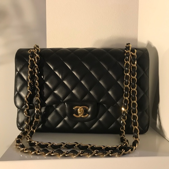 33a45ad73744 CHANEL Bags | Sold Classic Lambskin Jumbo Double Flap | Poshmark